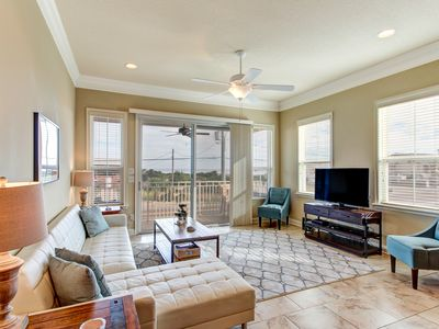 Photo for Luxury Townhome with Beautiful Ocean Views- Walking distance to Sliders