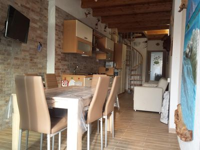 Photo for Holiday Apartment Zia Mariolina with Wi-Fi, Air Conditioning, Garden & Terrace; Parking Available