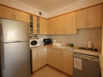 Photo for Israel Vacation Homes Apartment, With 24 Hour Doorman and Near Beach!