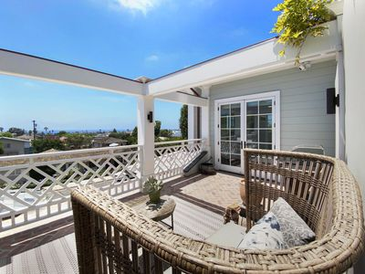 Photo for La Jolla Dream Home! All New Luxury Home with A/C, Ocean Views and Private Deck