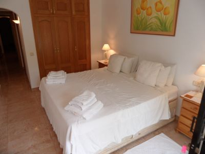 Photo for Spacious, 2 bedroom apartment on sea front in Javea