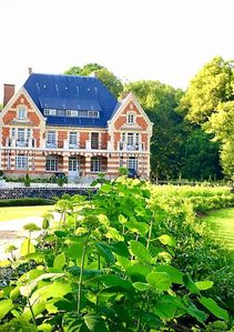 Photo for A guest house in the castle in the heart of the countryside of Artois