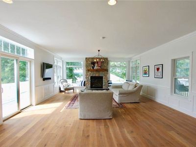 Photo for Beautiful Bright New Home, Walk to Easton's Beach