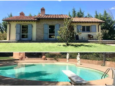 Photo for New, Lovely Villa with Beautiful Garden & Pool