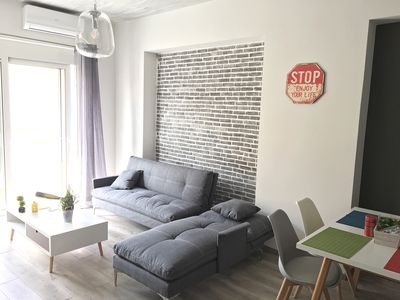 Photo for Pegasus Amazing Flat, 2min walk from the beach and 7min walk from Old Town
