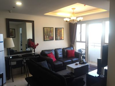 Photo for ★Robinsons Place Manila. 2BDR 70SQM. High floor. Group Room.Superb view
