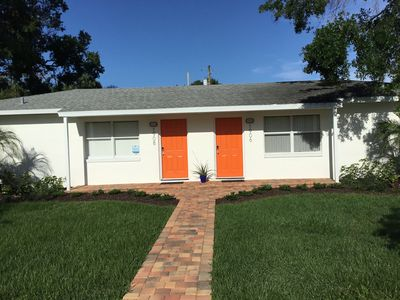 Photo for Roomy Duplex in Vero's Cultural Art District