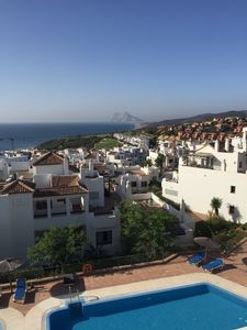Photo for Penthouse with pool and incredible 270 degree panoramic view towards Gibraltar.