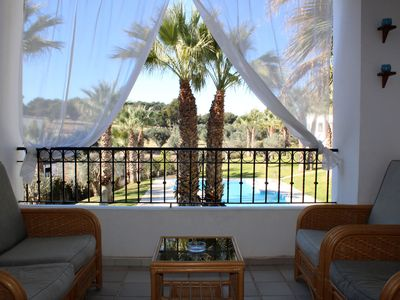 Photo for 1 Bed Apt Villamartin Overlooking Communal Pool and Golf Course!