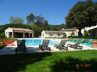 Photo for House of Master 10 pers. Pool 17M / 7. 50M Gulf of Saint Tropez