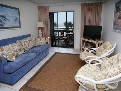 Photo for Pelicans Landing Building 6 Unit#103, 3BR Ocean Front with Outdoor Pool and Kiddie Pool
