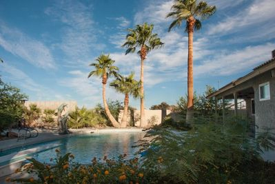 Year round, there's no more tranquil and relaxing place then lounging poolside.