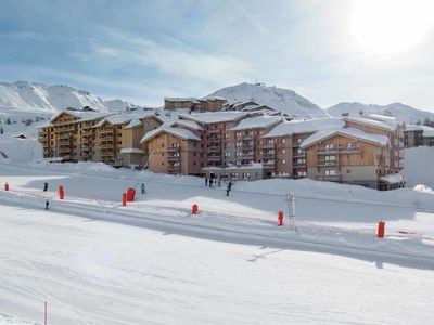 Photo for Apartment Front de Neige 1 (LAP600) in La Plagne - 2 persons, 1 bedrooms