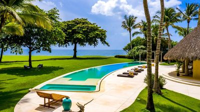 Photo for PROMO 7th NIGHT FREE! Exquisite Tropical Villa, Ocean Views, Spectacular Infinity Pool, Palapa