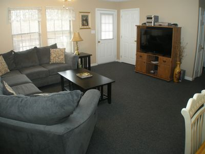 Photo for 4 bedroom 2 bath duplex, plenty of outdoorspace in family friendly Resort.