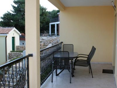 Photo for Two bedroom apartment near beach Rogoznica