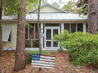 Photo for Seagrove Cottage - Outdoor Fireplace -Enclosed Porches- Pool/Tennis!
