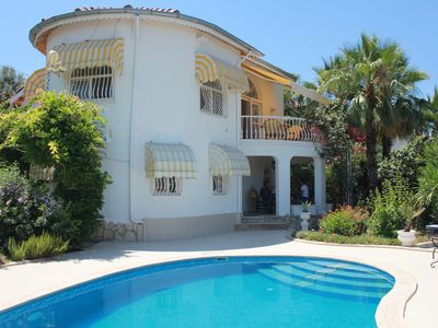 Photo for Villa Flora, absolute quiet, near the beach, sea and mountain views