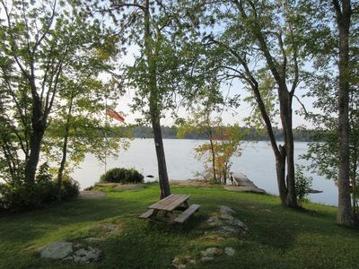 Photo for Deluxe Camp - Grey Owl Lakefront Cottage