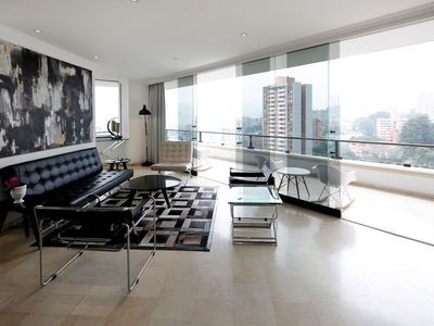 Photo for Med004 - Magnificent 5 bedroom apartment with beautiful view in Medellin