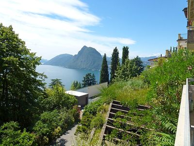 Photo for Apartment in Lugano with Internet, Lift, Parking, Balcony (48331)
