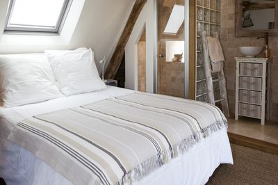 Bedroom Under the roof  with Loire view