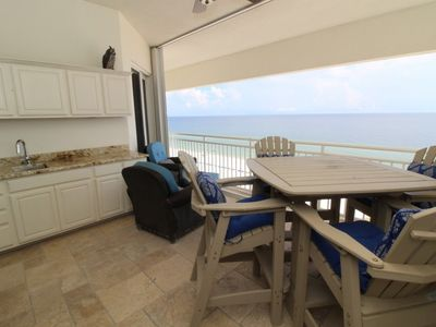 Photo for SeaSpray E1023 2BR PENTHOUSE - Directly Beach Front with Spacious Interior!