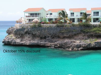 Apartment with pool, beach access 60 seconds of our door ! (sleeps 1 to 4-5)