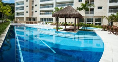 Photo for Ap. New 3 Suites, 300 m from the beach, all rooms with air conditioning