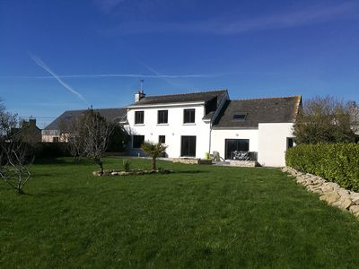 Photo for Ideal house for families between land and sea (sleeps 9)