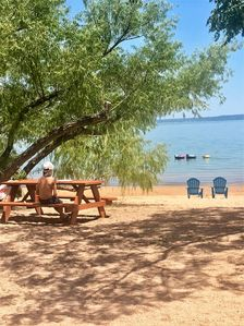 Photo for Lakefront Log Cabin 10 on the Beautiful Shores of Lake Buchanan