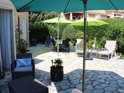 Photo for PRETTY MAZET OF AIR CONDITIONED 52 m², 100 m² SEA VIEW TERRACE, with WIFI connection