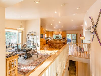 Photo for Beautiful Large 6 bedroom Lake Tahoe retreat with large entertainment areas
