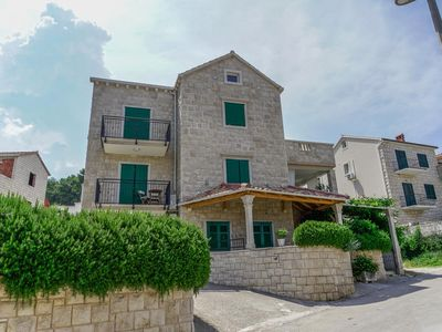 Photo for Apartment in Postira (Brač), capacity 2+0