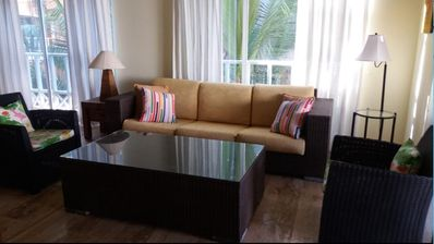 Photo for Luxury Beach Front Condo with View of Sea