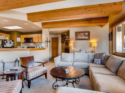 Photo for Rustic Mountain 3 Br Condo Plaza: Stay +3 Nights & Save 30%