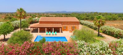 Photo for Large Country House in a Private Location with AC and Private Pool, close to the Beach of Es Trenc !