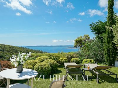 Photo for Tasteful decorated villa with and marvelous sea view