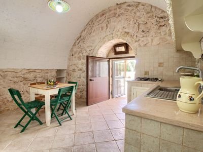 Photo for Maggiore apartment in Pescoluse with air conditioning, private parking, private terrace, private ga…