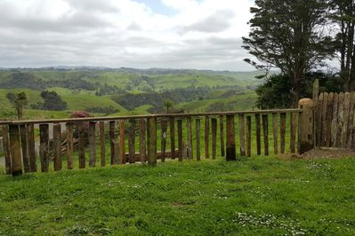 Peaceful views with vintage fence
