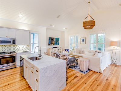 Photo for Watercastle - 5 bedroom w/ Carriage House in Watercolor Phase 1 - Sleeps 17