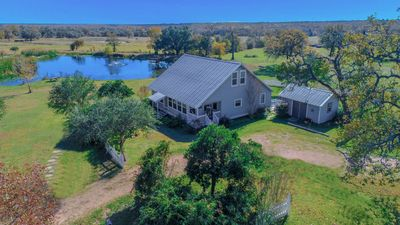 Photo for Bootstrap at Roundtop Texas 18 Acres with a Pond!