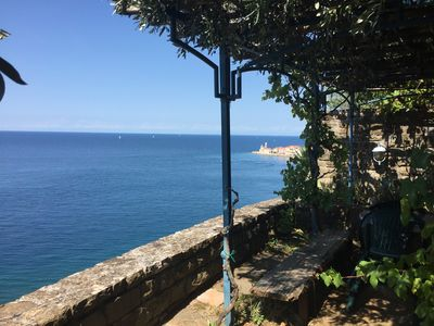Photo for Charming Apartment With a Beautiful View of the Adriatic Sea