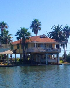 Photo for SUNSWEPT BAY Relaxing canal home in Jamaica Beach