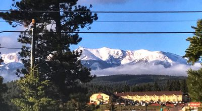 Pikes Peak View - From the Front of the House