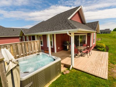 Photo for The Gables of PEI Resort: Deluxe King Condo with Hot Tub