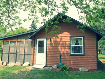 Red Cedar 2BR Lakefront Cabin w/ Private Launch & Dock