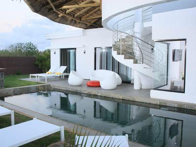 Photo for MODERN VILLA 3 bedrooms MAURITIUS near Grand Baie sea view Private pool