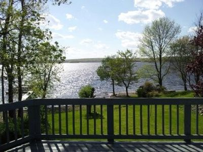 Photo for Lake Front Home with beautiful sunsets over Lake Wallenpaupack