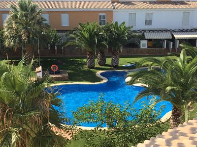 Photo for Luxury air-conditioned villa with pool in Alcossebre Spain